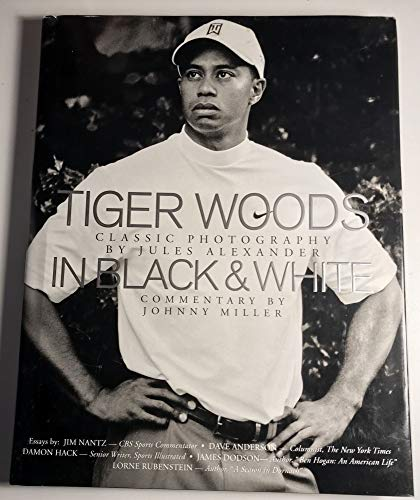 Tiger Woods in Black & White; Classic: ALEXANDER, Jules, photographer