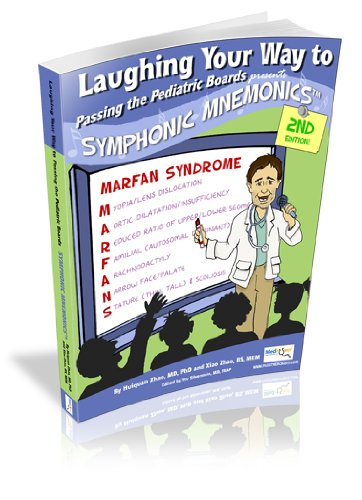 9781607435327: Laughing Your Way to Passing the Pediatric Board: Symphonic Mnemonics