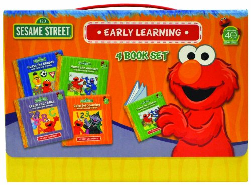 Sesame Street Early Learning Boxed Set (1607452375) by Sesame Street