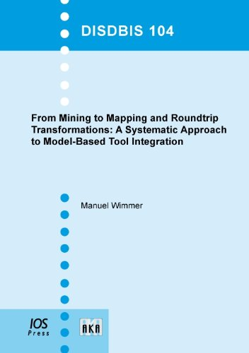 9781607500704: From Mining to Mapping and Roundtrip Transformations: A Systematic Approach to Model-Based Tool Integration - Volume 104 Dissertations in Database and ... zu Datenbanken und Informationssystemen)