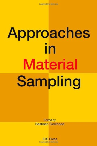 9781607505525: Approaches in Material Sampling