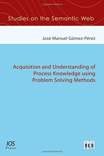 Acquisition and Understanding of Process Knowledge using Problem Solving Methods (Studies on the ...