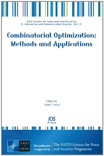 COMBINATORIAL OPTIMIZATION METHODS & APP (Nato Science for Peace and Sec): CHV TAL, V.
