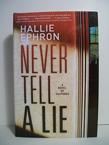9781607515357: Never Tell a Lie (Large Print)