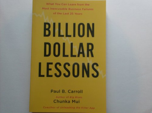 9781607518884: Billion Dollar Lessons