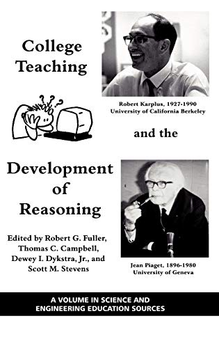 9781607522379: College Teaching and the Development of Reasoning (Hc) (Science and Engineering Education Sources)