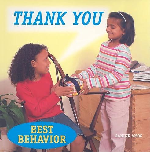 9781607540427: Thank You (Best Behavior)