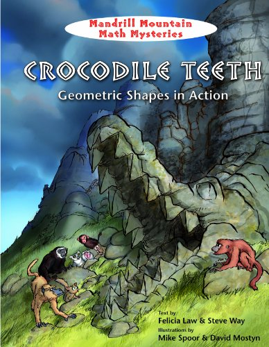 9781607548218: Crocodile Teeth: Geometric Shapes in Action (Mandrill Mountain Math Mysteries)
