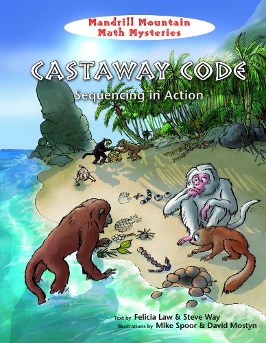 9781607548225: Castaway Code: Sequencing in Action (Mandrill Mountain Math Mysteries)