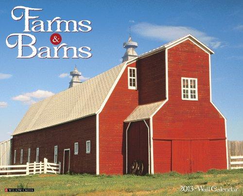 9781607555582: Farms & Barns 2013 Wall Calendar