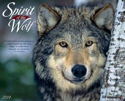 9781607559702: Spirit of the Wolf 2014 Wall Calendar