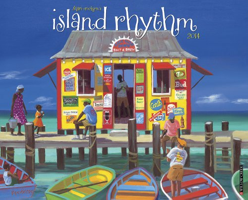 9781607559818: Island Rhythm 2014 Wall Calendar