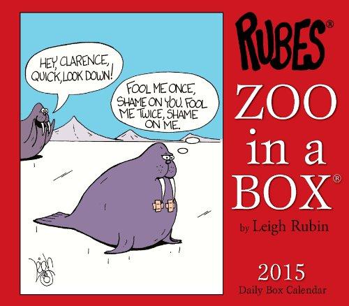 Zoo in a Box 2015 Box Calendar: Leigh Rubin