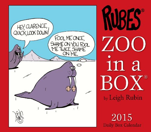 9781607559832: Rubes Zoo in a Box Calendar
