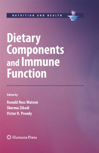 9781607610601: Dietary Components and Immune Function (Nutrition and Health)