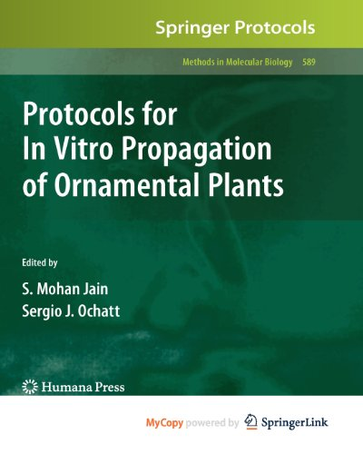 9781607613916: Protocols for In Vitro Propagation of Ornamental Plants