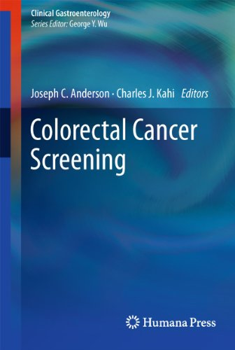 Colorectal Cancer Screening.: Anderson, Joseph C.; Charles J. Kahi (Eds.):