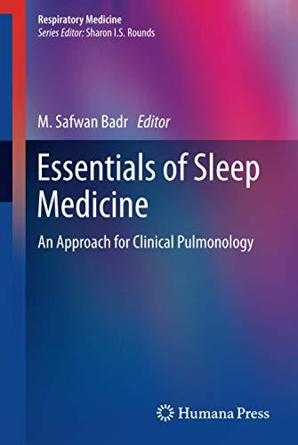Essentials of Sleep Medicine: M. Safwan Badr