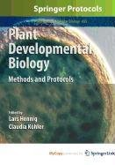 9781607617662: Plant Developmental Biology