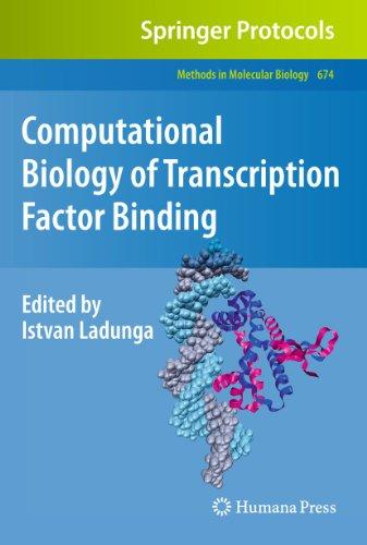 9781607618539: Computational Biology of Transcription Factor Binding (Methods in Molecular Biology)