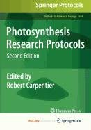 9781607619260: Photosynthesis Research Protocols