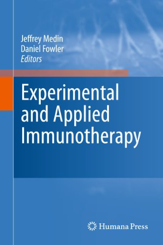 Experimental and Applied Immunotherapy (Hardback)