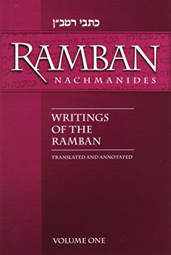 Writings of the Ramban/Nachmanides:Translated and Annotated (2 Volume Set)