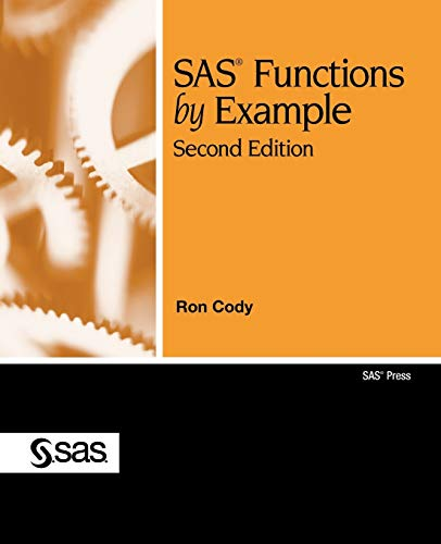 9781607643401: SAS Functions by Example, Second Edition