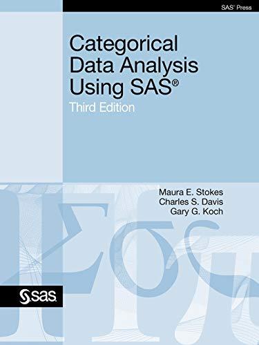 9781607646648: Categorical Data Analysis Using SAS, Third Edition