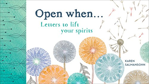 9781607749646: 1: Open When: Letters to Lift Your Spirits