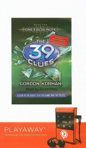 One False Note (39 Clues) (160775486X) by Gordan Korman