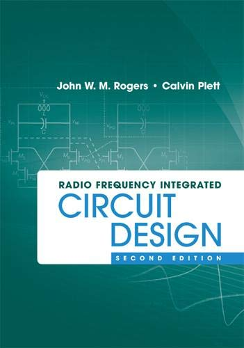 9781607839798: Radio Frequency Integrated Circuit Design