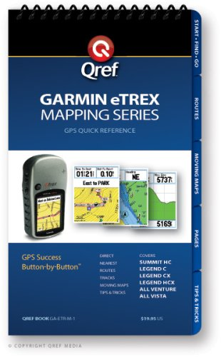 Garmin eTrex Mapping Qref Checklist (Qref GPS Quick Reference): Bridgette Doremire