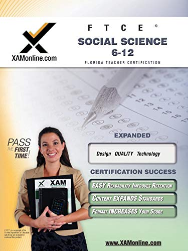 9781607870135: FTCE Social Science 6-12 Teacher Certification Test Prep Study Guide (XAM FTCE)
