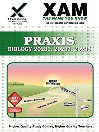 9781607870319: Praxis Biology 20231, 20232, 20235 (XAM PRAXIS)