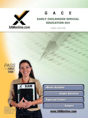9781607870616: GACE Early Childhood Special Education 004 Teacher Certification Test Prep Study Guide (XAM GACE)