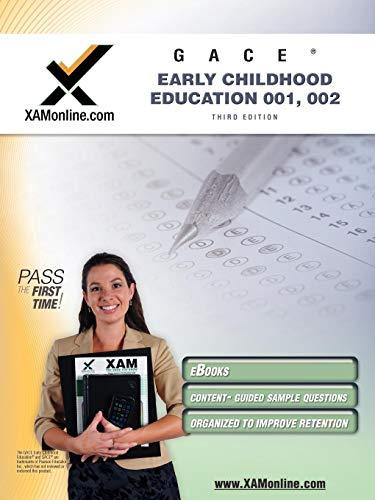 9781607870647: GACE Early Childhood Education 001, 002 Teacher Certification Test Prep Study Guide (XAM GACE)