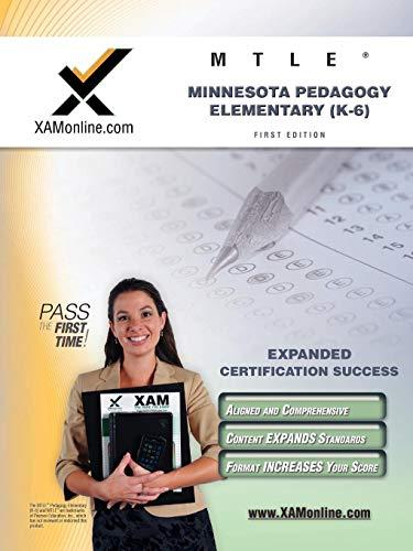 9781607870746: MTLE Minnesota Pedagogy: Elementary (K-6) Teacher Certification Test Prep Study Guide