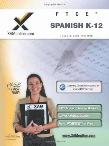 9781607870937: FTCE Spanish K-12 Teacher Certification Test Prep Study Guide