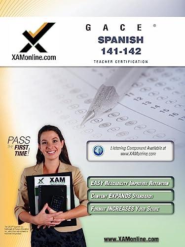 9781607870944: GACE Spanish 141, 142 Teacher Certification Test Prep Study Guide
