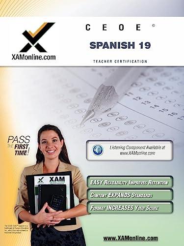 9781607870999: CEOE OSAT Spanish 19 Teacher Certification Test Prep Study Guide