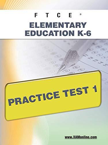 9781607871699: FTCE Elementary Education K-6 Practice Test 1