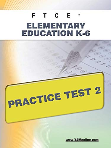 9781607871705: FTCE Elementary Education K-6 Practice Test 2