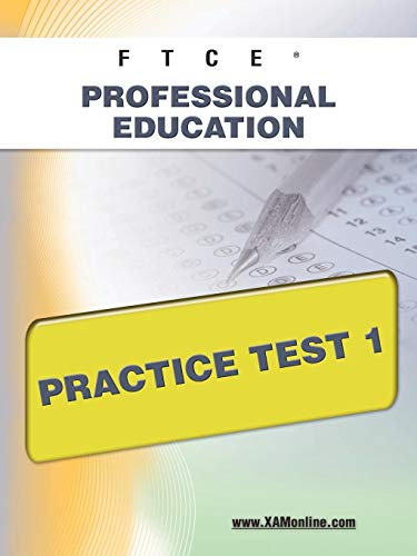 9781607871712: FTCE Professional Education Practice Test 1