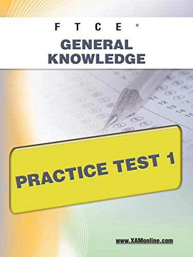 9781607871811: FTCE General Knowledge Practice Test 1