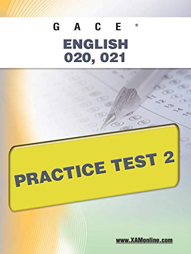 9781607871880: GACE English 020, 021 Practice Test 2