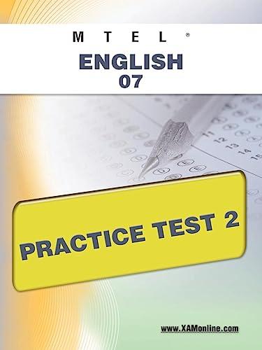 9781607872108: MTEL English 07 Practice Test 2