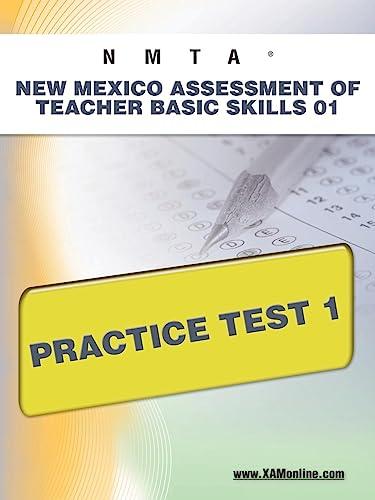 9781607872351: NMTA New Mexico Assessment of Teacher Basic Skills 01 Practice Test 1