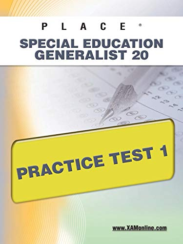 9781607872672: PLACE Special Education Generalist 20 Practice Test 1