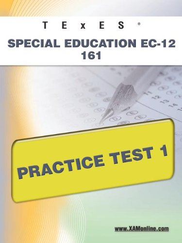 9781607872795: TExES Special Education EC-12 161 Practice Test 1